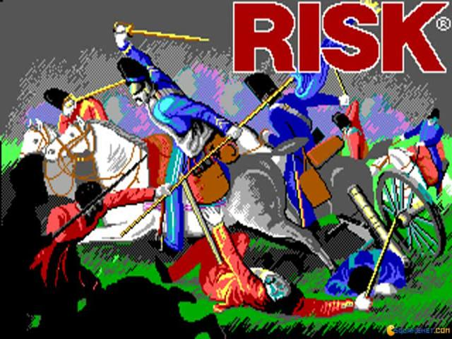 Risk  - The World Conquest Game - game cover