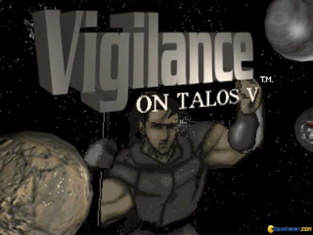 Vigilance on Talos V - title cover