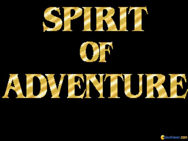 Spirit of Adventure - title cover