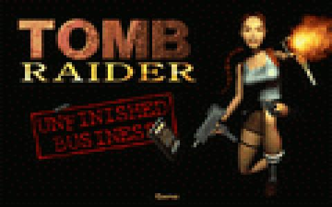 Tomb Raider: Unfinished Business - title cover