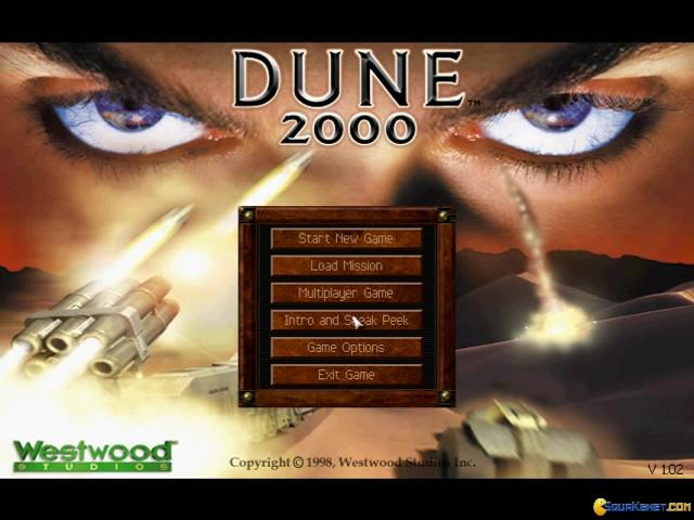 Dune 2000 - title cover