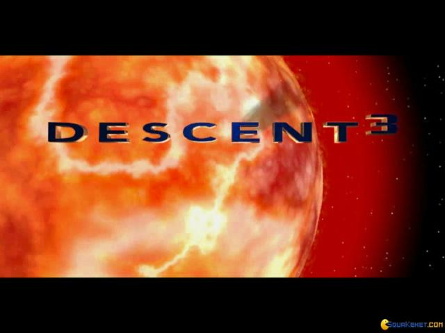 Descent 3 - title cover