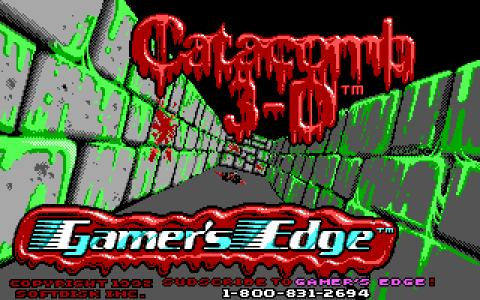 Catacomb 3D - game cover