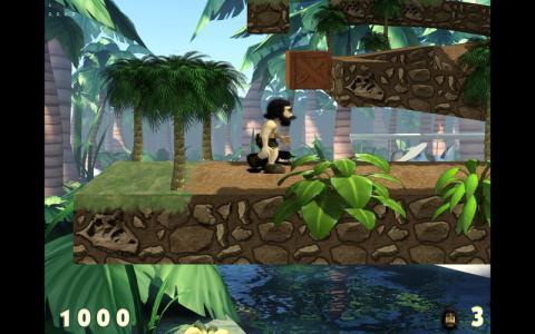 3D Caveman Rocks - title cover