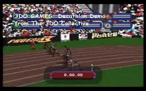 3DO Games: Decathlon - game cover