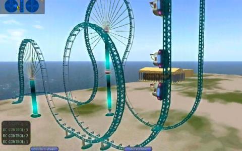 3D Roller Coaster Designer - title cover