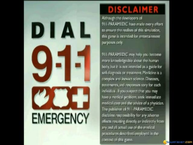 911 Paramedic - title cover