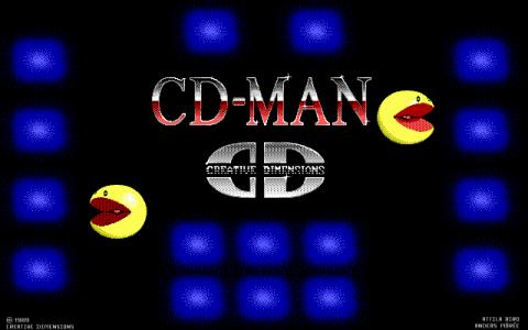 CD-Man - game cover