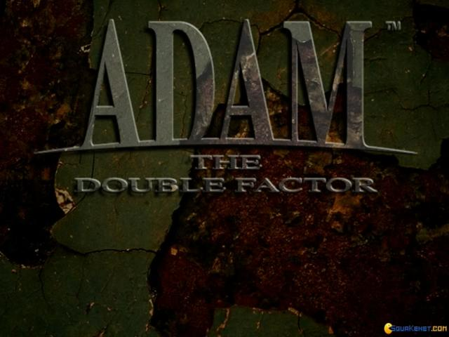 ADAM: The Double Factor - title cover