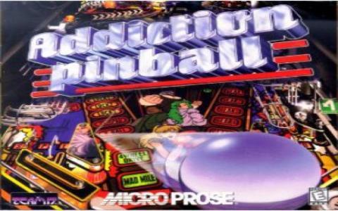 Addiction Pinball - title cover