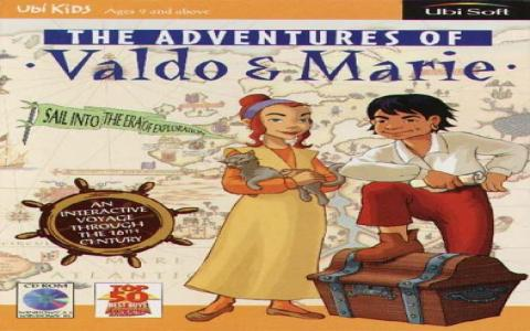 The Adventures of Valdo & Marie - title cover