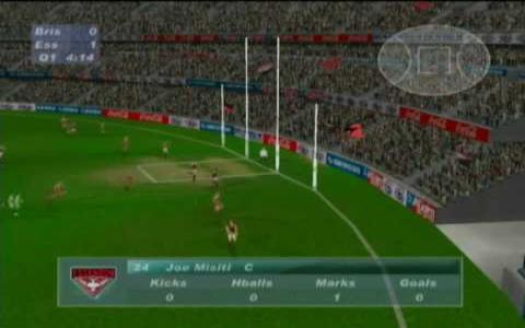 AFL Live 2003 - game cover
