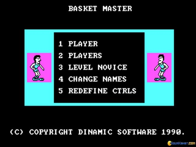 Basket Master - title cover