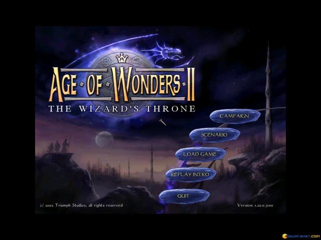 Age of Wonders 2: The Wizard's Throne - game cover