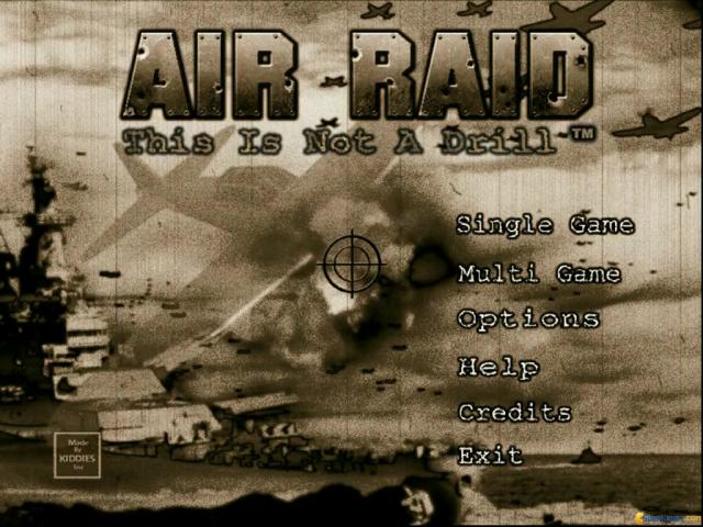 Air Raid: This is Not a Drill - title cover