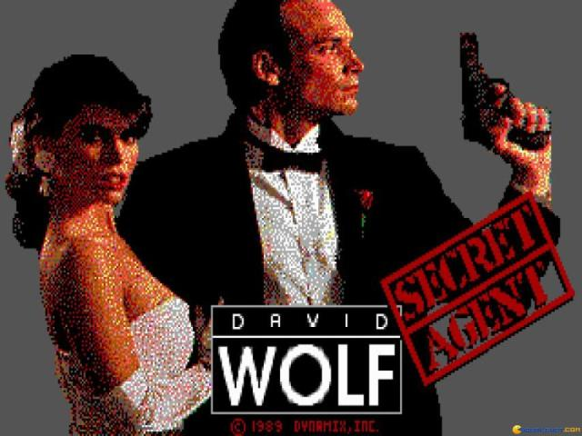 David Wolf: Secret Agent - game cover