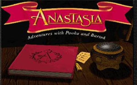 Anastasia: Adventures with Pooka and Bartok - game cover