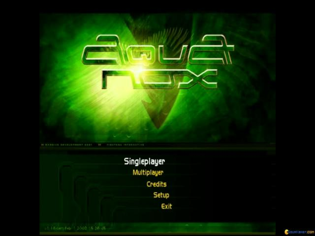 AquaNox - title cover