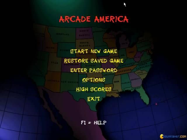 Arcade America - game cover