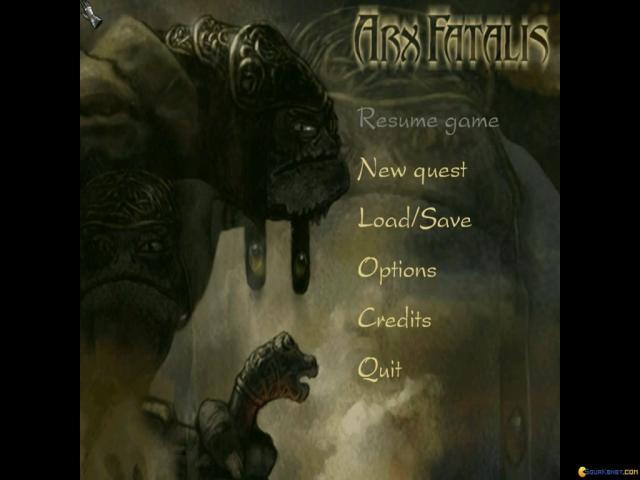 Arx Fatalis - game cover