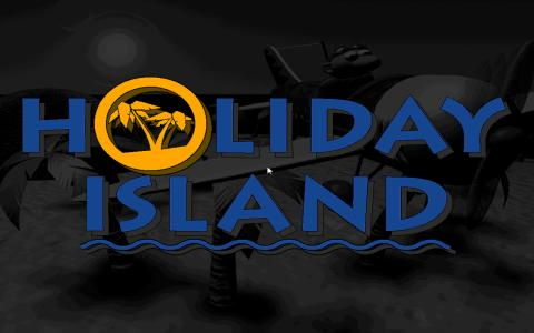 Holiday Island - title cover