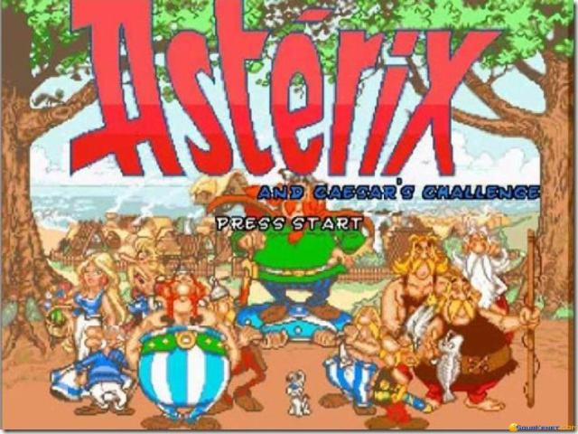 Asterix: Caesar's Challenge - title cover