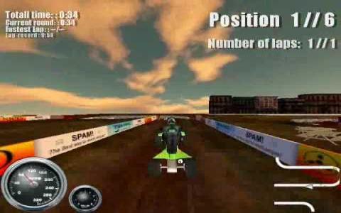 ATV Mudracer - game cover