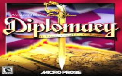 Avalon Hill's Diplomacy - game cover