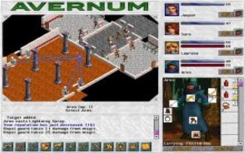 Avernum - game cover