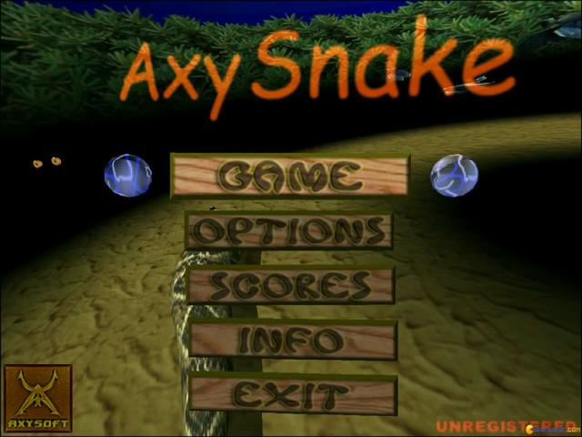 AxySnake - title cover