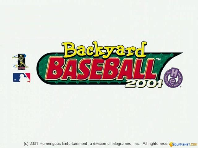 Backyard Baseball 2001 - title cover
