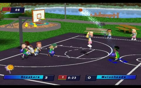 Backyard Basketball 2004 - game cover
