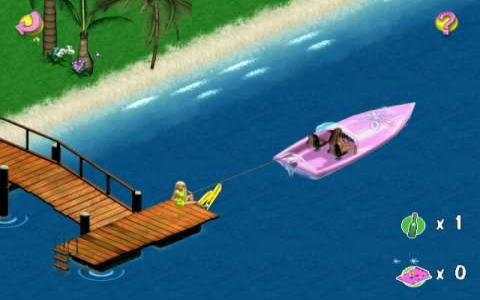 Barbie Beach Vacation - game cover