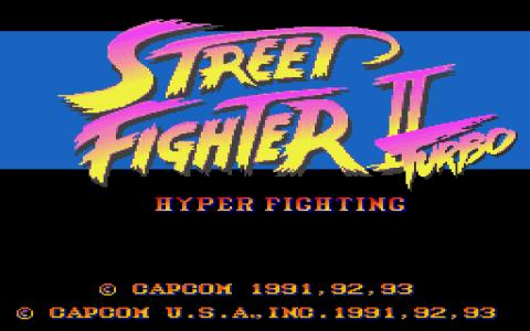 Street Fighter 2 Turbo - title cover