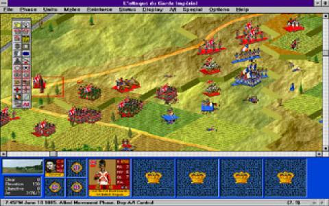 Battleground 3: Waterloo - title cover
