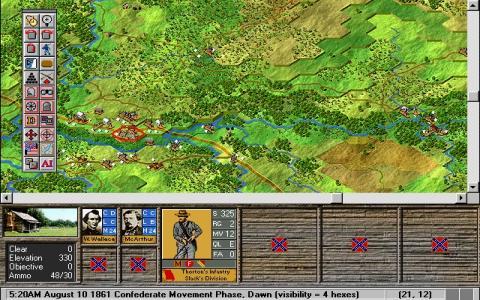 Battleground 4: Shiloh - title cover