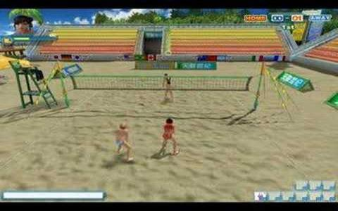 Beach Volleyball - title cover