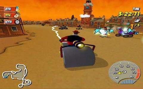 Beanotown Racing - game cover