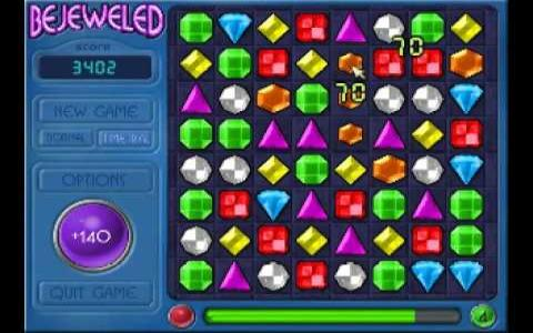 Bejeweled Deluxe - game cover