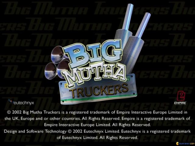 Big Mutha Truckers - game cover
