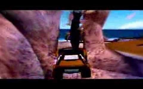 Bikini Beach: Stunt Racer - game cover