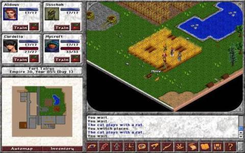 Blades of Avernum - game cover