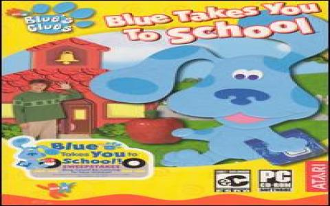 Blue's Clues: Blue Takes You to School - game cover