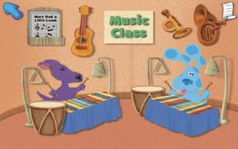Blue's Clues Preschool - title cover