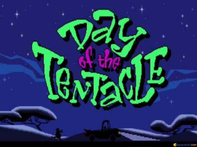 Day of the Tentacle - title cover