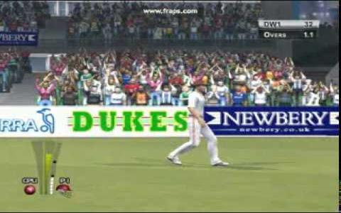 Brian Lara International Cricket 2005 - title cover