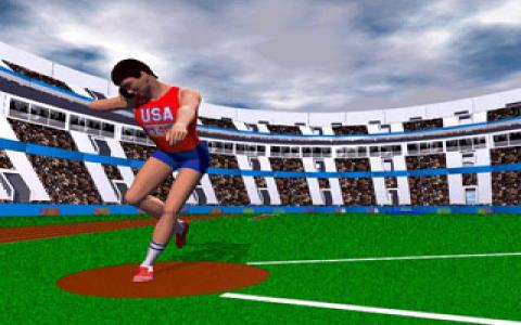 Bruce Jenner's World Class Decathlon - game cover