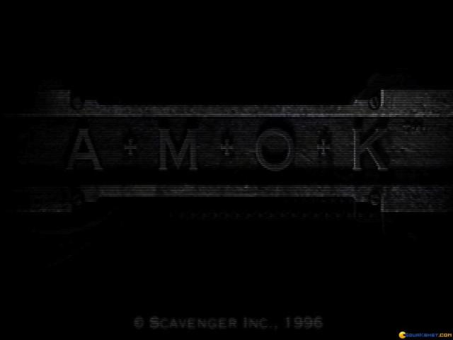 Amok - game cover