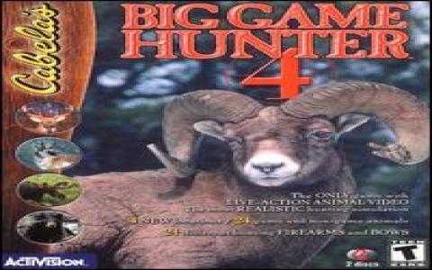Cabela's Big Game Hunter 4 - title cover