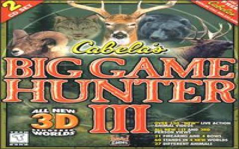 Cabela's Big Game Hunter 3 - title cover